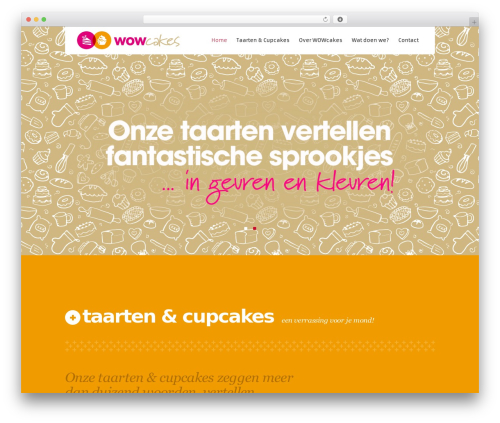 Kronos WP WP template - wowcakes.nl