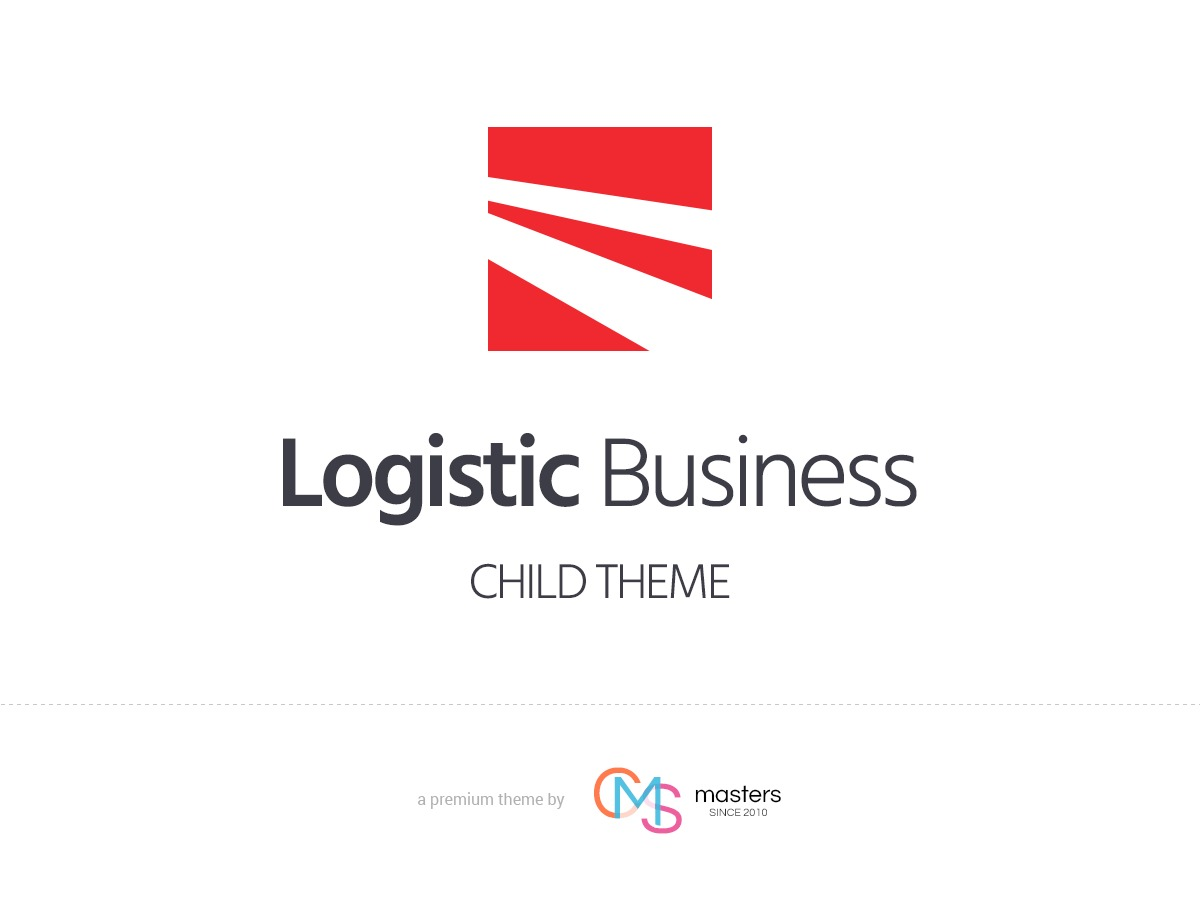 Logistic Business Child WordPress template for business