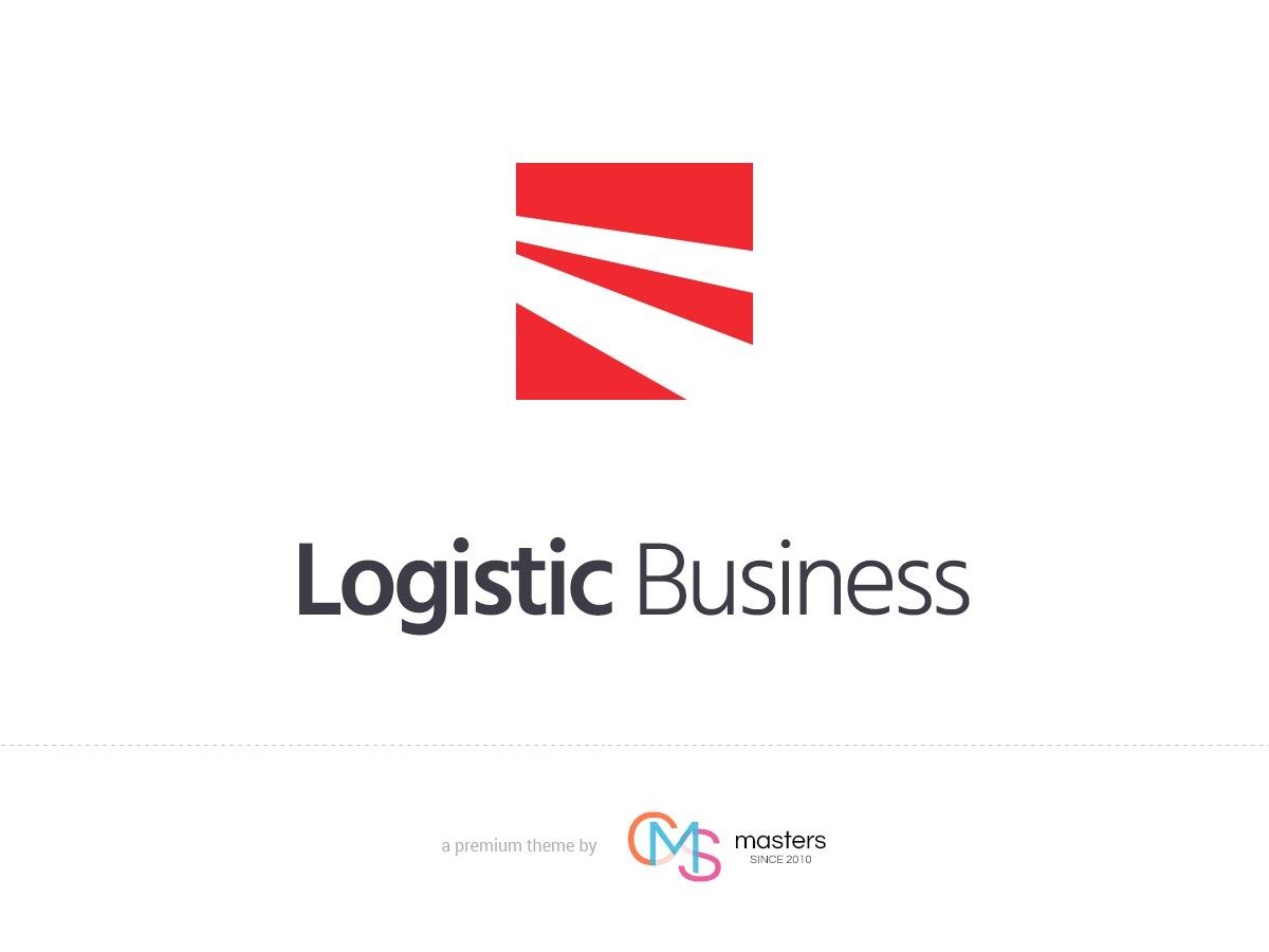 Logistic Business personal blog WordPress theme