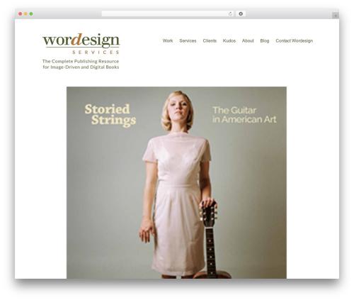 Maker WordPress theme design - wordesignservices.com
