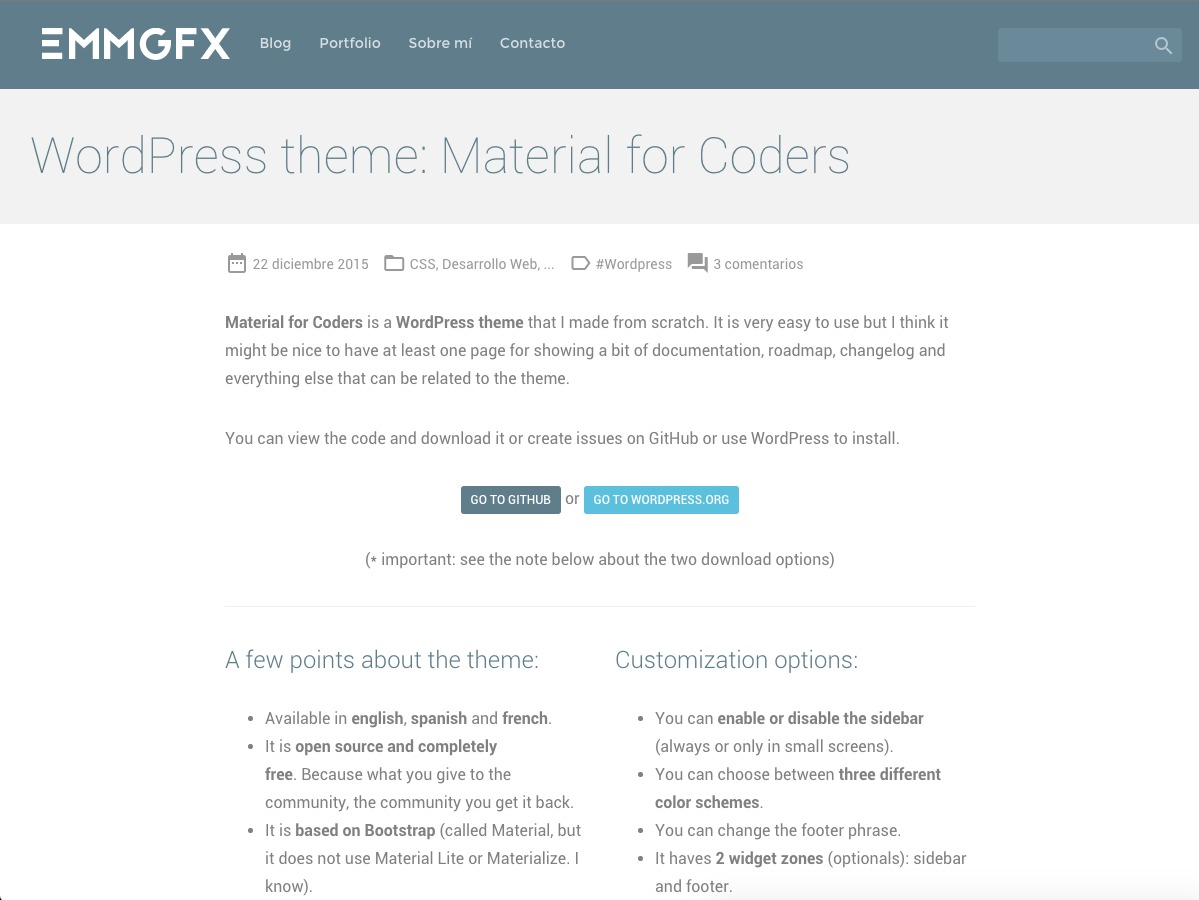 Material for Coders theme free download