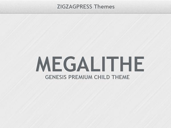 Megalithe theme WordPress