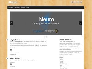 Neuro WordPress blog template