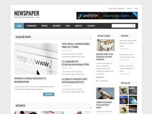 Newspaper best WordPress magazine theme