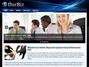 OurBiz company WordPress theme