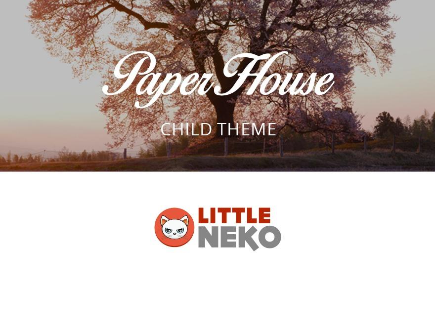 paperhouse top WordPress theme