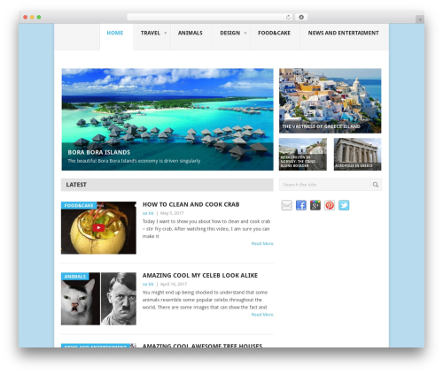 Point free WP theme - worldbeautifulplace.com