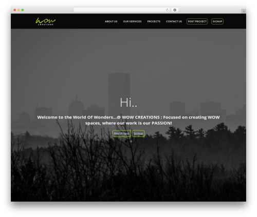 presence top WordPress theme - wowcreations.co.in