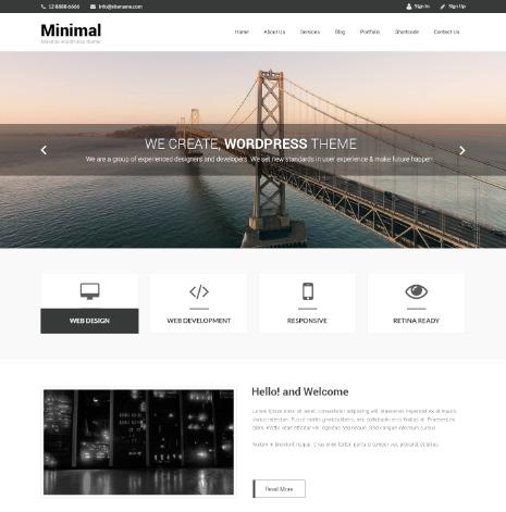 SKT Naturo Pro photography WordPress theme