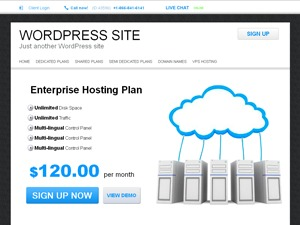 SquareHost WP template