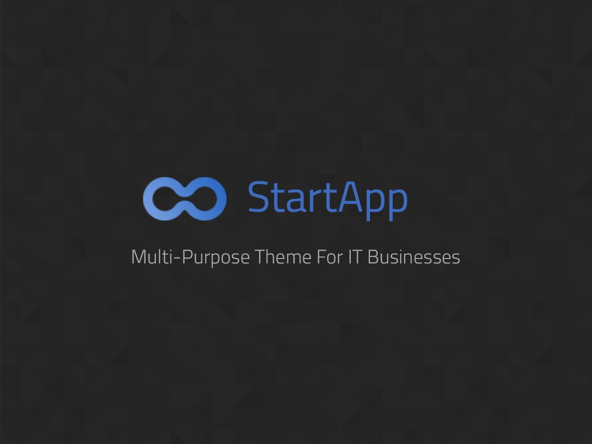 StartApp WordPress template for business