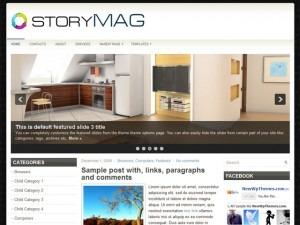 StoryMag WordPress news theme
