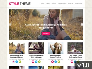 Style best WordPress magazine theme