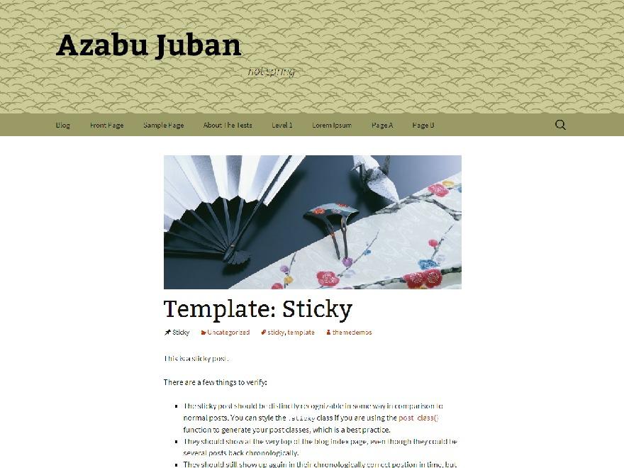 Theme WordPress Azabu-Juban