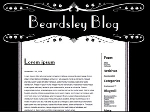 Theme WordPress Beardsley
