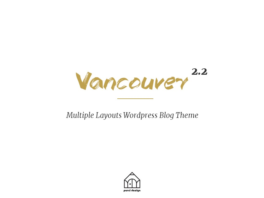 Vancouver WordPress blog template
