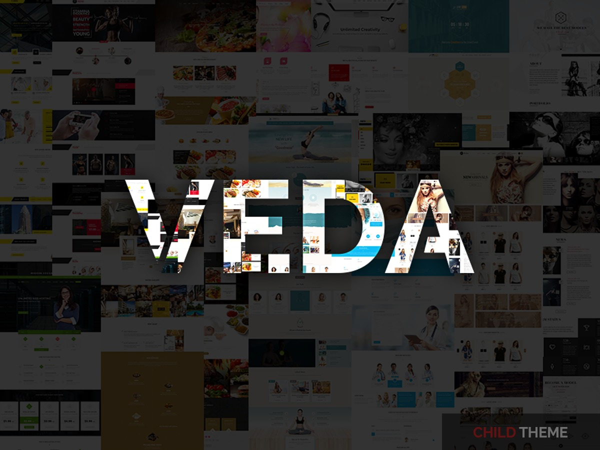 Veda Child WordPress theme by the DesignThemes team