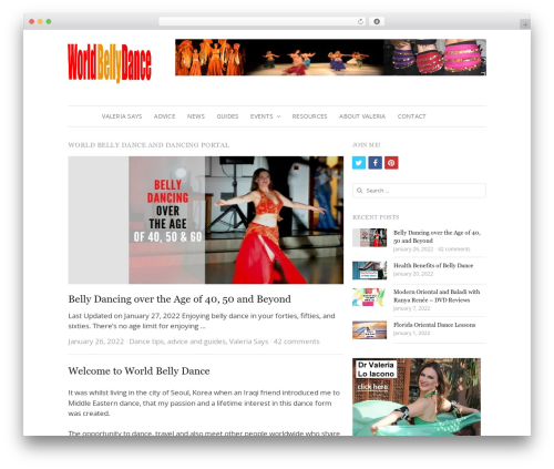 Free WordPress Fancier Author Box by ThematoSoup plugin - worldbellydance.com