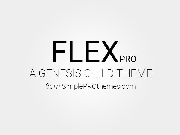 WordPress template Flex Pro Theme