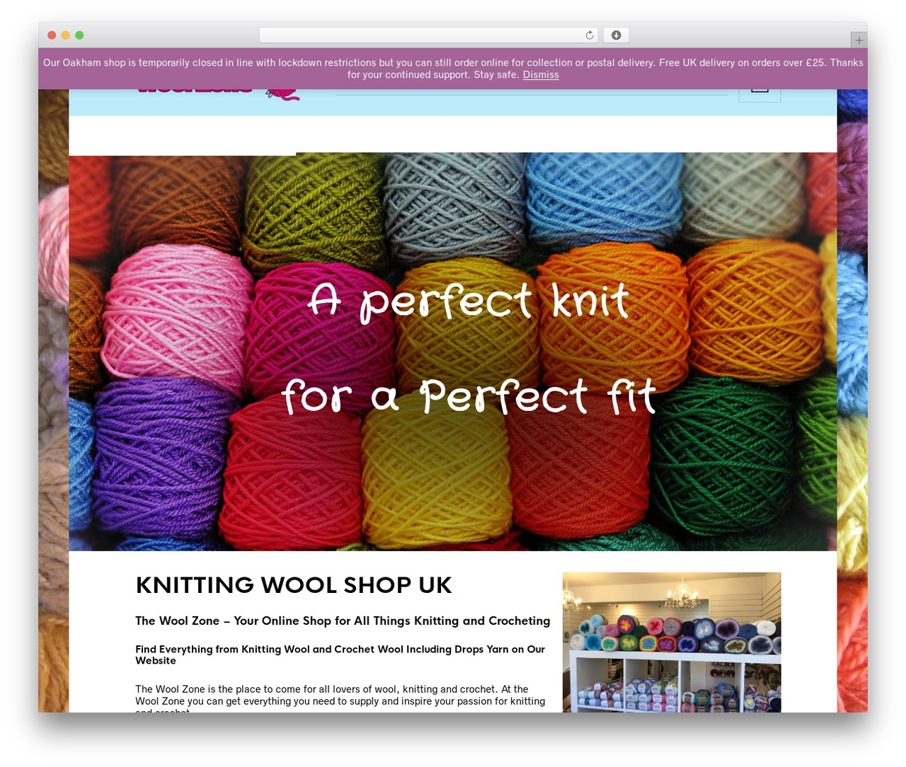 WordPress template The Retailer - woolzone.co.uk