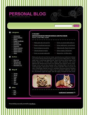 WordPress theme 413 theme WordPress