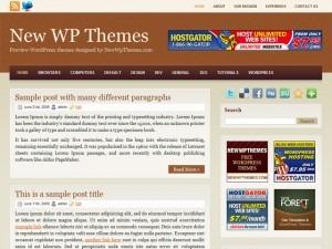 WordPress theme Browny