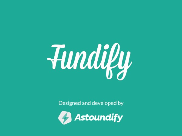 WordPress theme Fundify