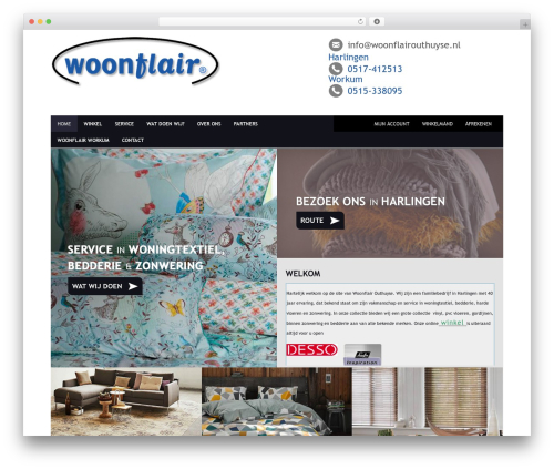 WordPress theme Headway Base - woonflairouthuyse.nl