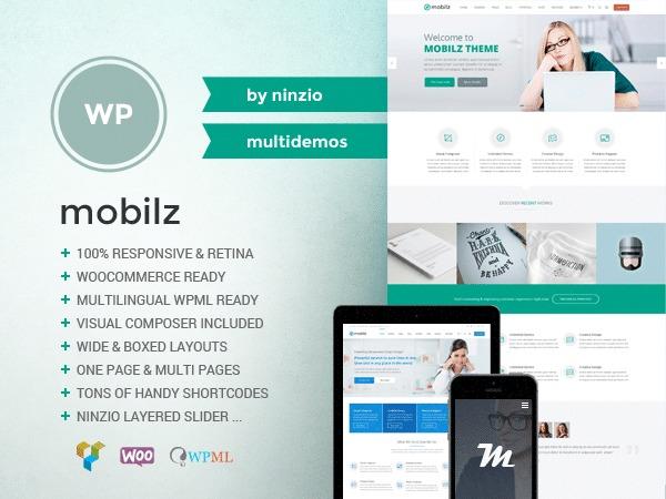 WordPress theme Mobilz