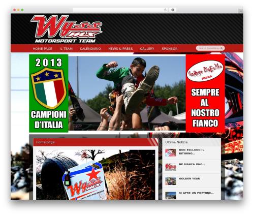 WordPress theme Sportimo Premium Theme - wyssmxteam.com