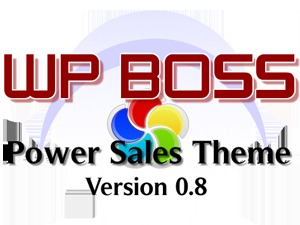 WP Boss Power Sales Theme - premium WordPress theme