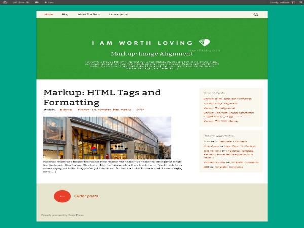 WP StrapThirteen WordPress blog theme