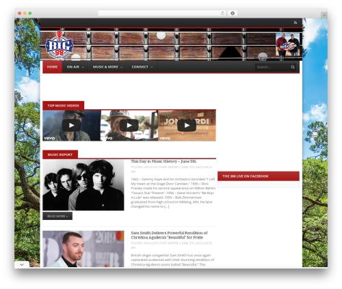 WordPress ultimate-branding plugin - wqhl981.com