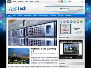 WP theme webtech