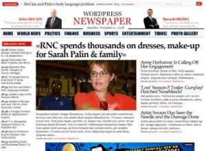 wpnewspaper WordPress news template