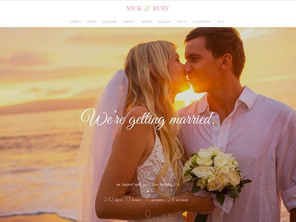 Yes best wedding WordPress theme