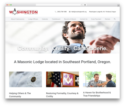 ZEPHYR top WordPress theme - washington46.org