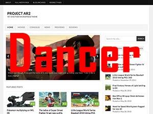 Arras Dancer best WordPress theme