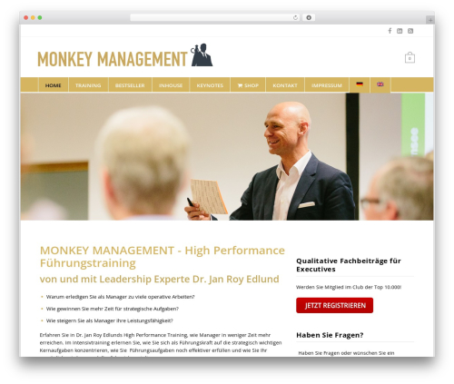 Free WordPress WP Cookie Banner plugin - monkeymanagement.com