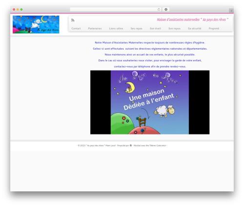 Customizr template WordPress free - mam-laval.com