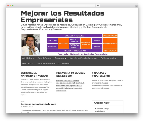 Gridiculous theme WordPress - mejorarlosresultados.com