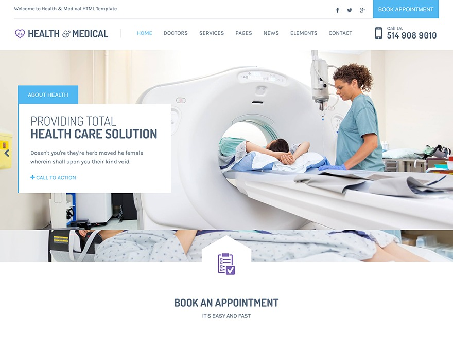 Health and Medical Child Theme medical WordPress theme