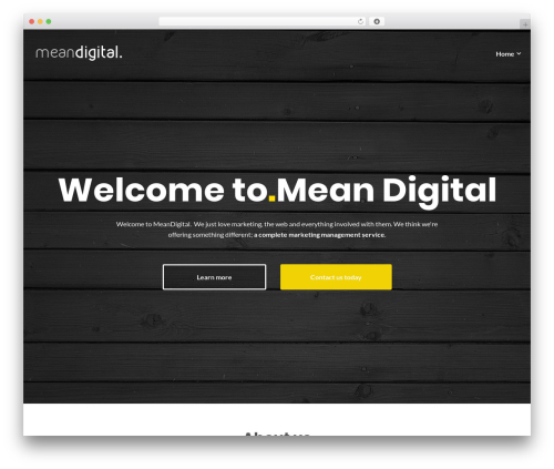 Illdy best free WordPress theme - meandigital.co.uk