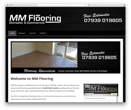 MM Flooring premium WordPress theme - mmflooring.co.uk