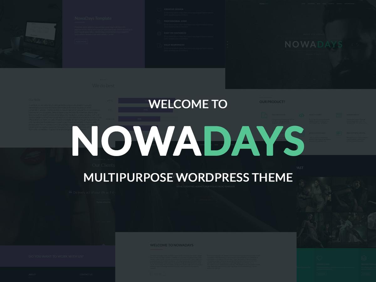 NowaDays Child Theme best WordPress template