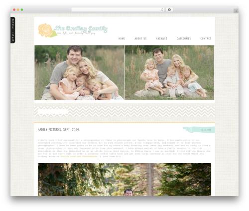 ProPhoto WordPress page template - mylindleyfamily.com