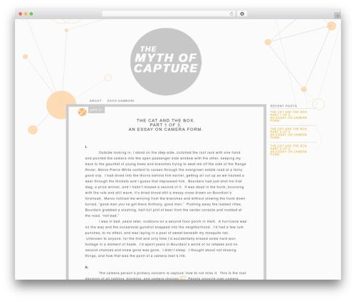 Theme WordPress PixelPower - mythofcapture.com