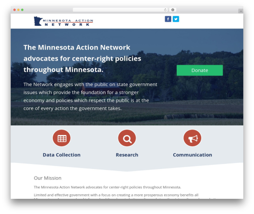 WP theme Divi - mnactionnetwork.org