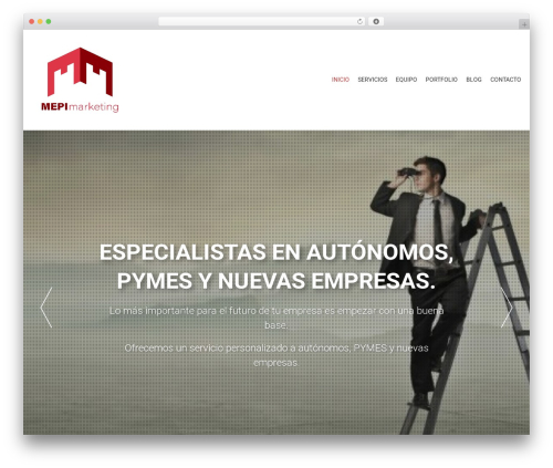 AccessPress Parallax WordPress template free download - mepimarketing.com