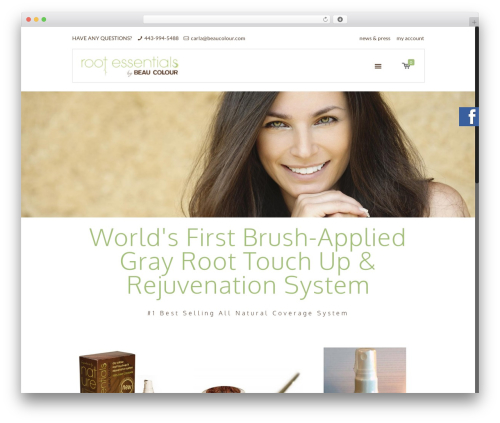 Best WordPress theme Betheme - myrootessentials.com
